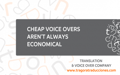 Cheap voice overs aren't always affordable