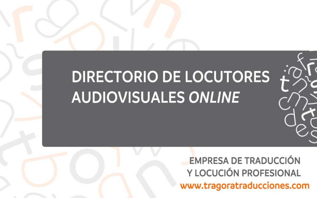 locutores audiovisuales