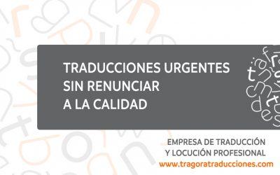 Traducciones urgentes sin renunciar a la calidad