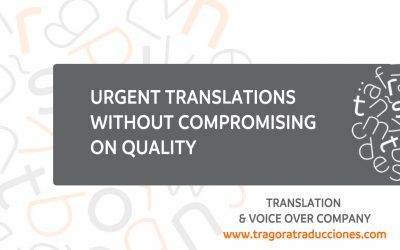 Urgent translations without compromising on quality