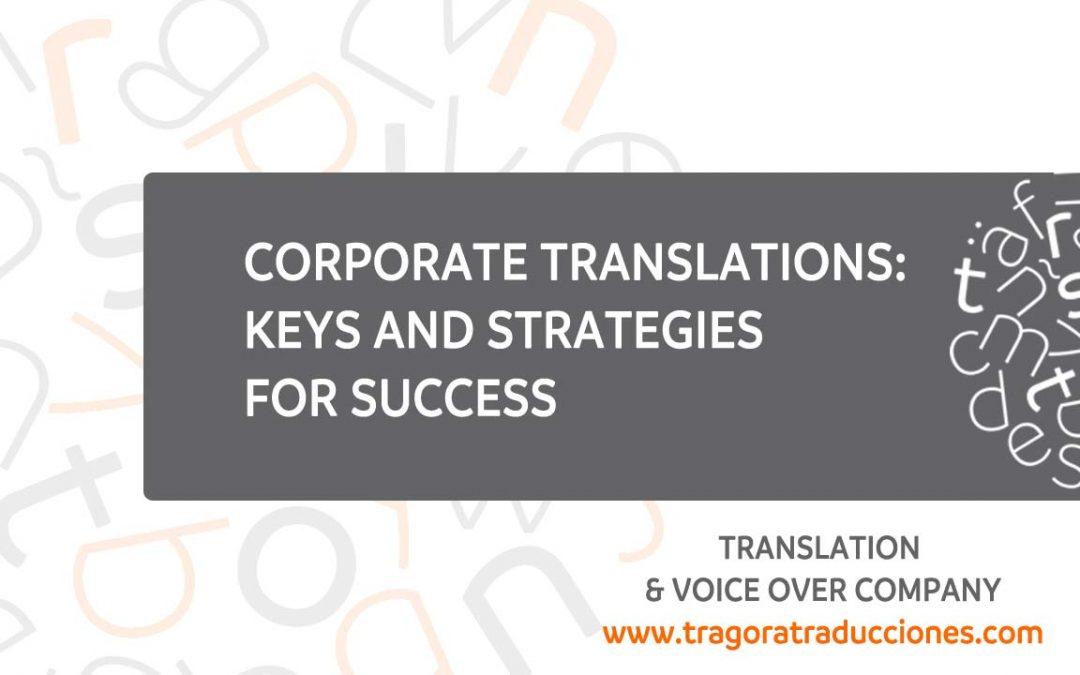 Corporate translations
