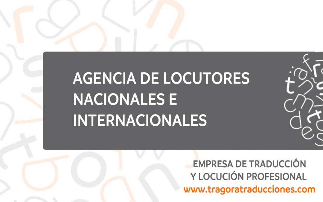 Agencia de locutores en más de 50 idiomas